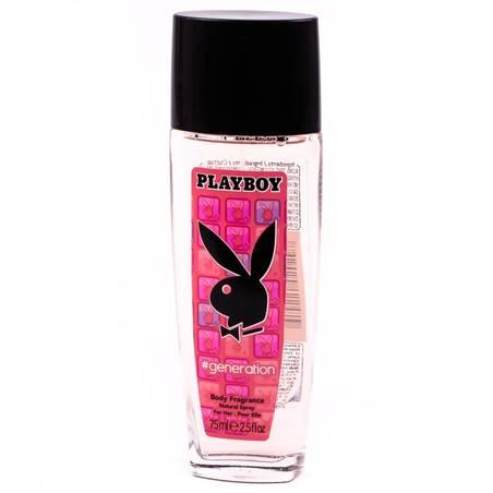 Playboy Generation női pumpás dezodor 75 ml