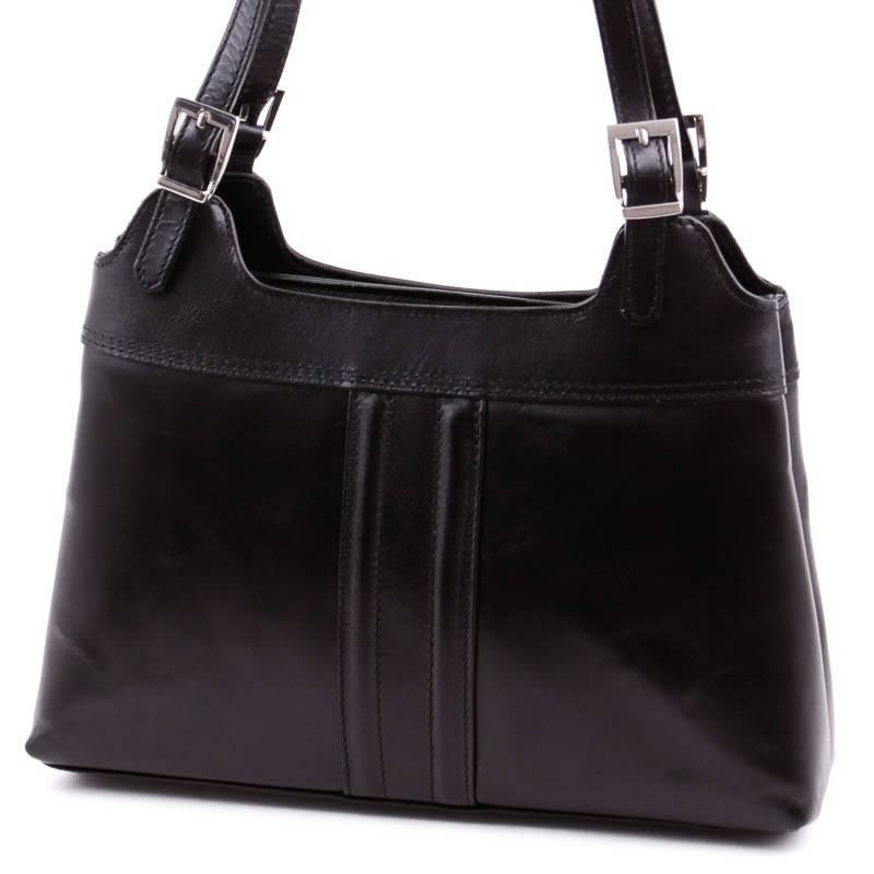 Fekete női bőr táska  3948 fc9b82558d