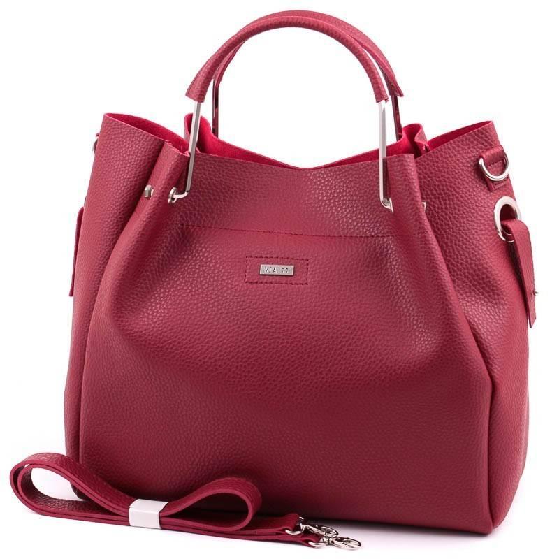 Via55 bordó női táska