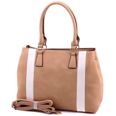 Run Fa barna-fehér  női táska