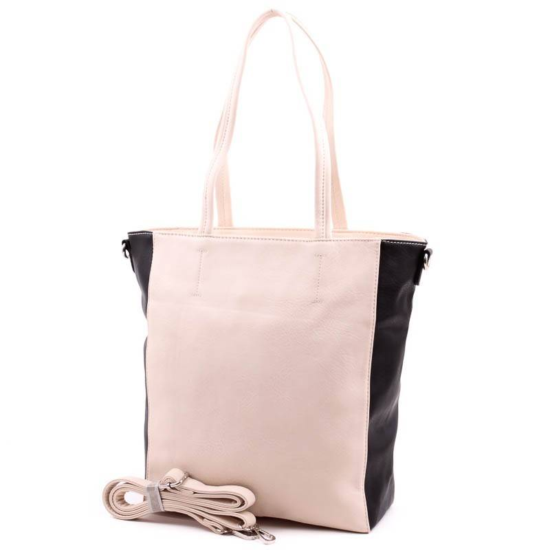 Black Diamond bézs-fekete női táska