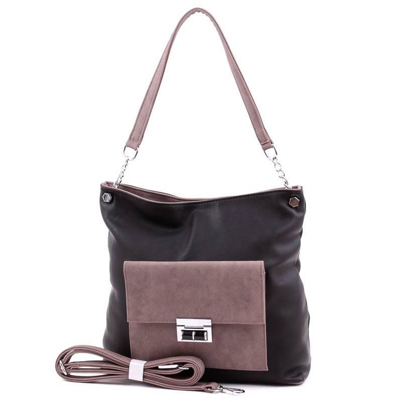 Karen fekete-barna női rostbőr táska  4315 953c0746df
