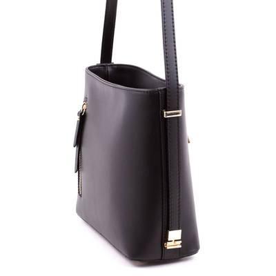 Fekete olasz bőr női táska
