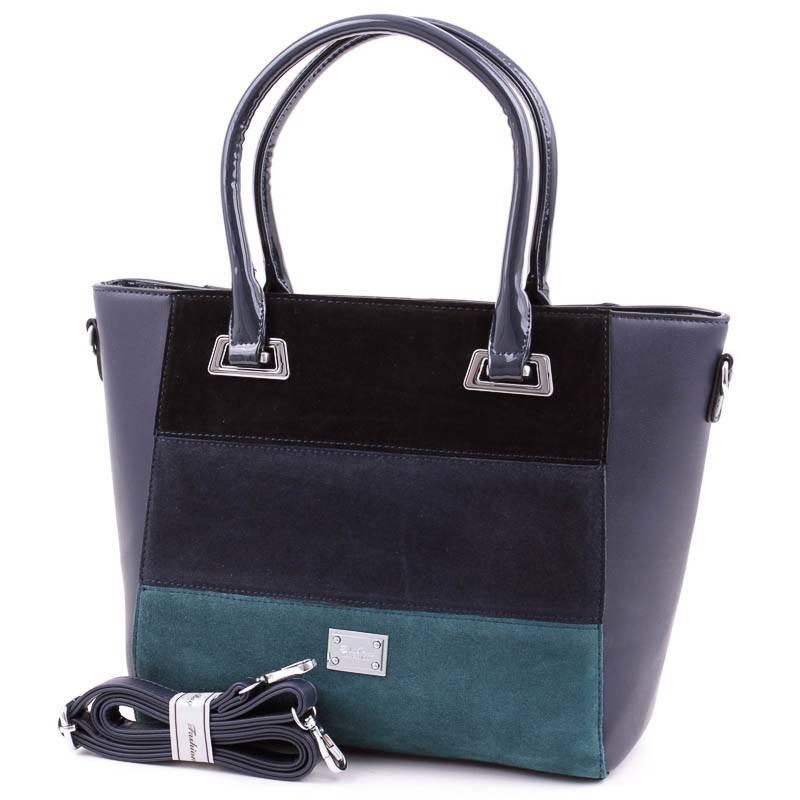 SilviaRosa kék csíkos női táska  4368 c0d42b1bce