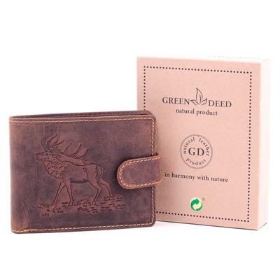 GreenDeed szarvas mintás...