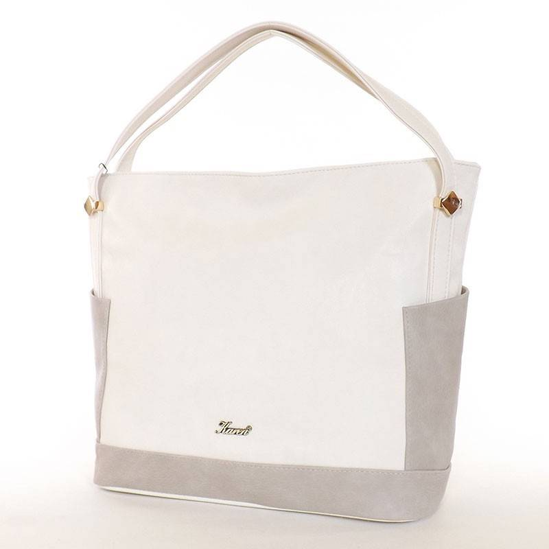 Karen bézs-drapp rostbőr női táska