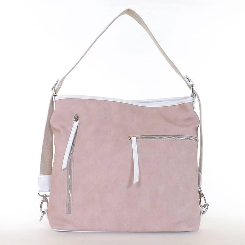 Karen púder-fehér rostbőr női táska  4420 723a04db43