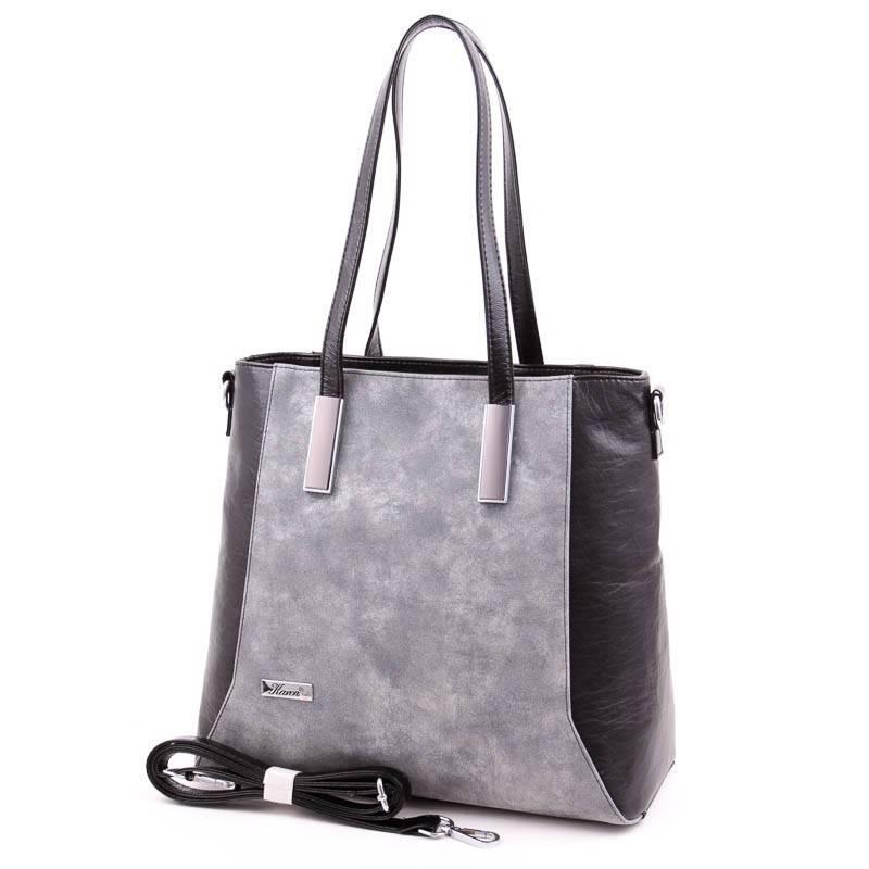 Karen fekete-ezüst rostbőr női táska  4538 15b1af711d