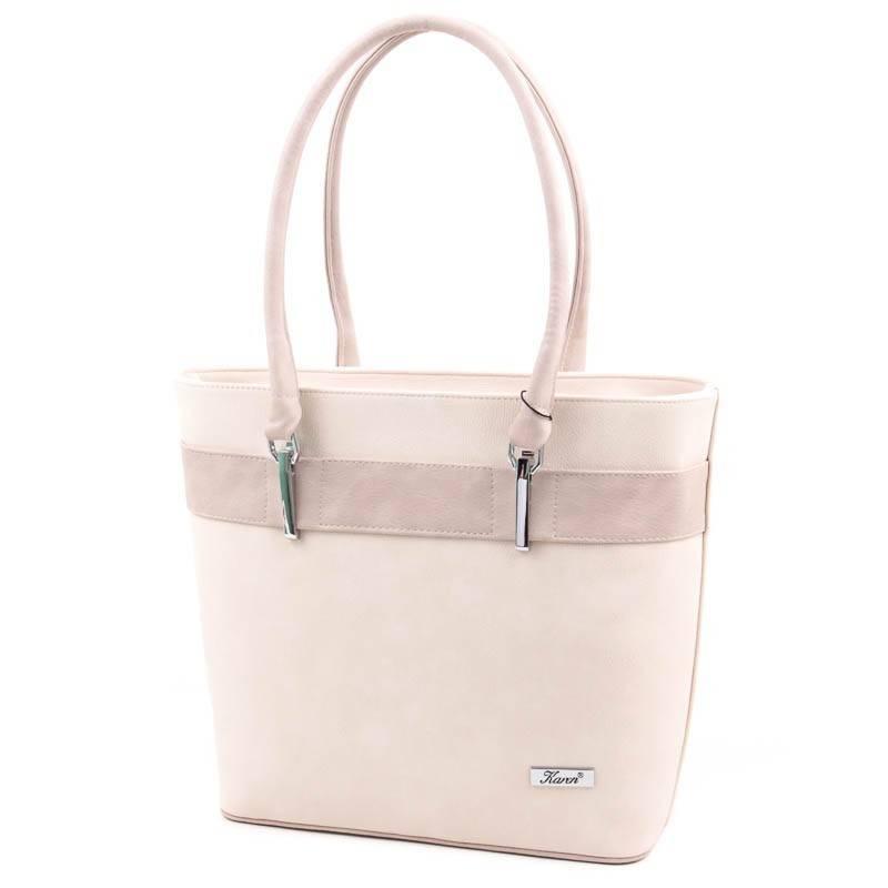 Karen bézs rostbőr női táska  4655 03f9297018