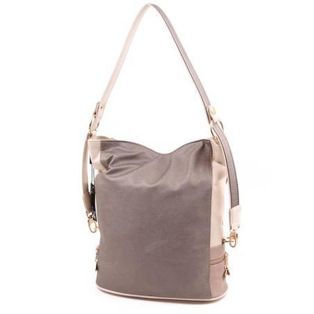 Karen bézs-bronz rostbőr női táska
