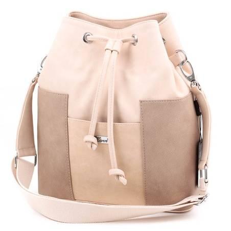Karen bézs rostbőr női táska