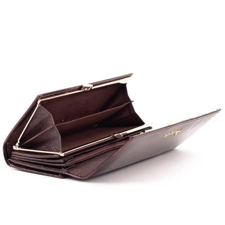 c10023ef9378 Alessandro Paoli barna lepkés női bőr pénztárca #4577