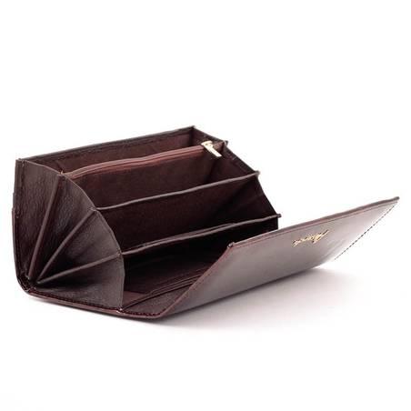 4dd959fbce88 Alessandro Paoli barna lepkés női bőr pénztárca #4587