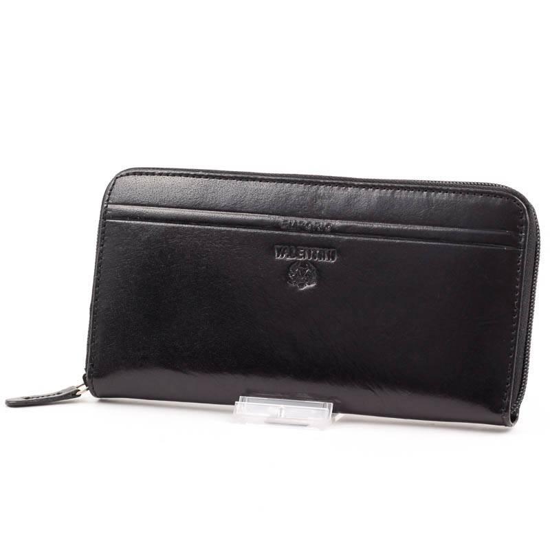 részletezve friss stílusok aranyos olcsó Emporio Valentini fekete bőr pénztárca #4590