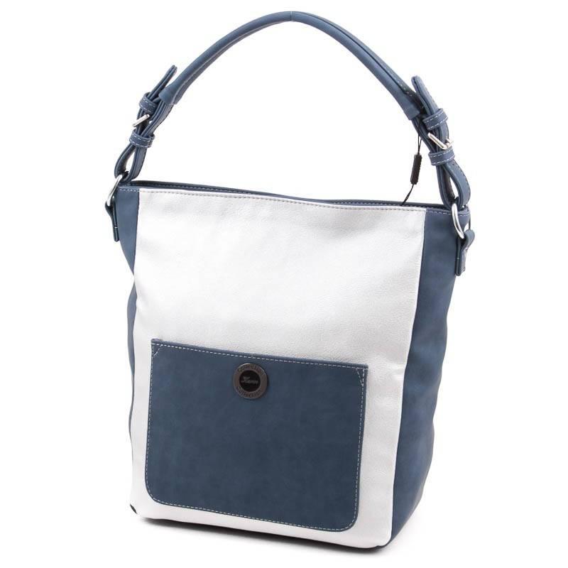 Karen fehér-ezüst rostbőr női táska  3676 95397f3959