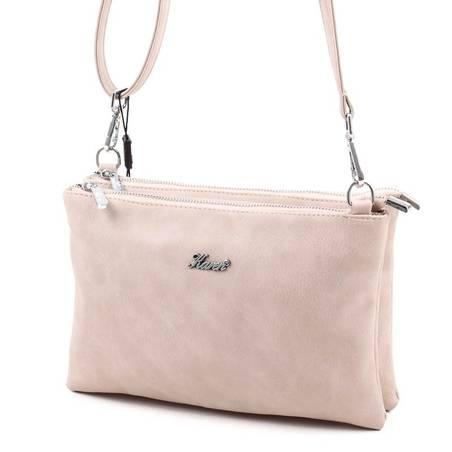 Karen bézs kis méretű női rostbőr táska