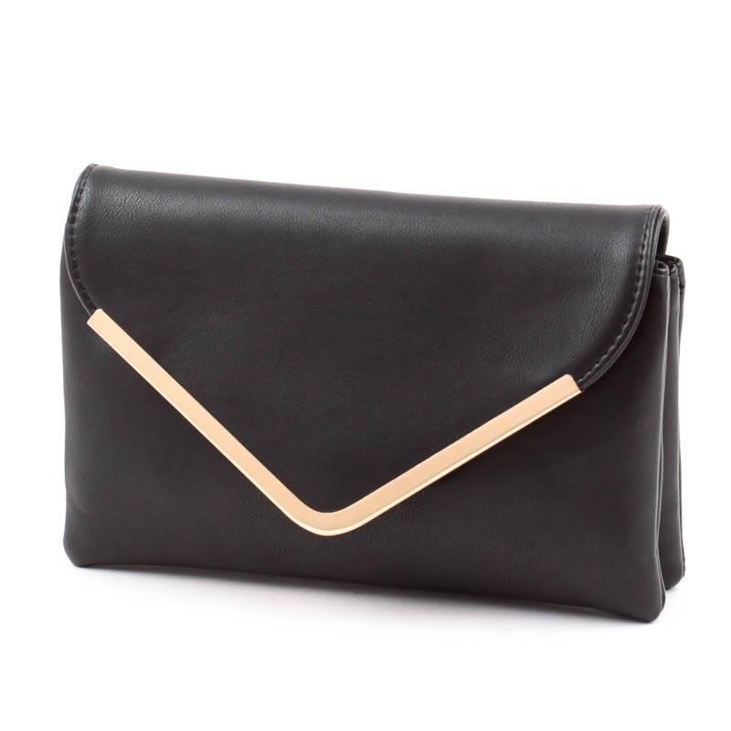 575455cd4b9a Run Fa fekete női boríték táska #4694
