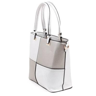 Run Fa ezüst színű női táska