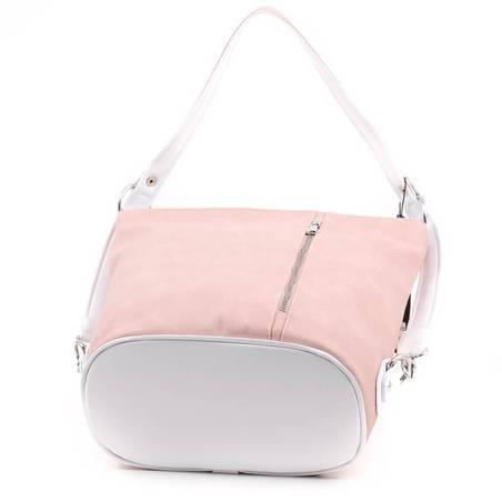 Karen púder-fehér rostbőr női táska  4843 e35d4892ec