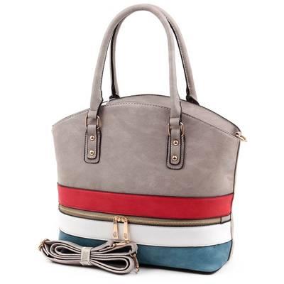 Szürke női táska