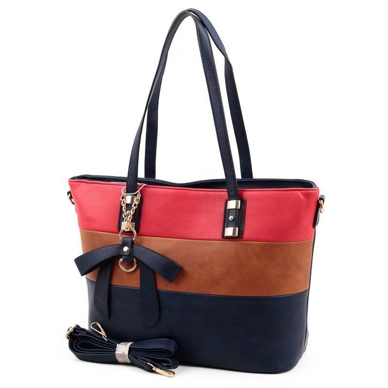 L N kék-barna-piros női táska  4776 a4a0f5b2c3