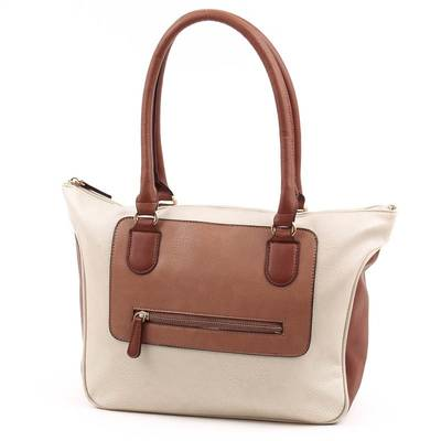 Chenson bézs-barna női táska