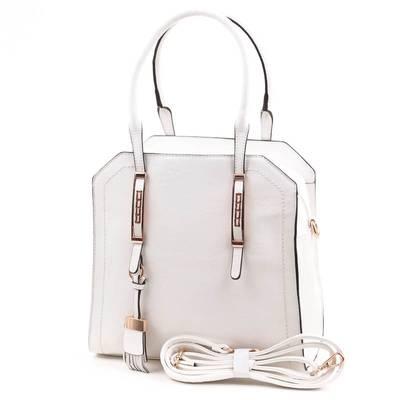 Gorétt fehér női táska