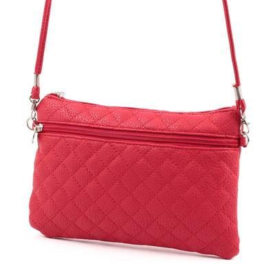 Piros kis méretű női  táska