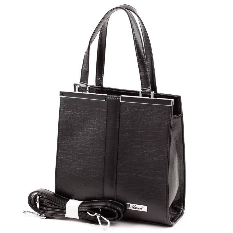 Karen fekete rostbőr női táska  4931 923837ed7e
