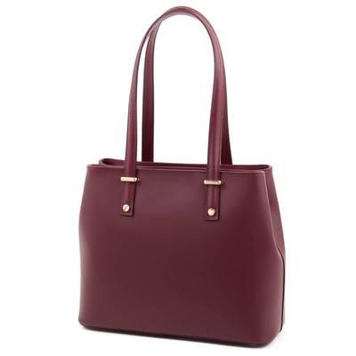 Bordó olasz bőr női táska
