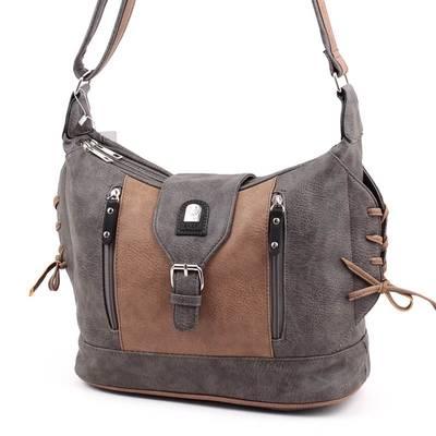 L&H Bags szürke-barna női...
