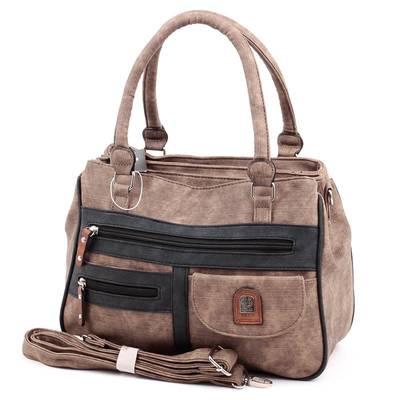 L&H Bags barna-fekete női...