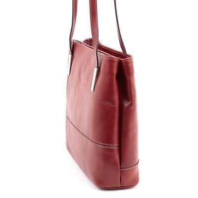 Barna női olasz bőr táska