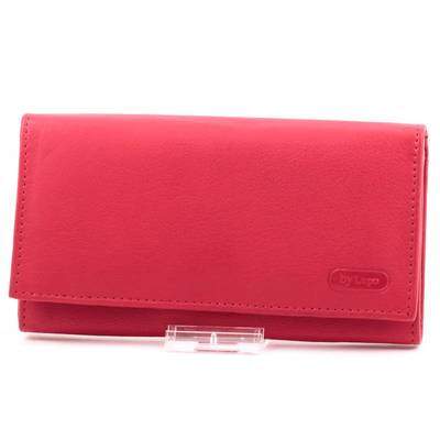 Ramsey L. piros bőr pénztárca