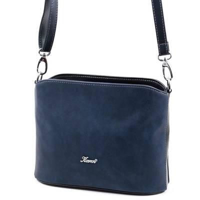 Karen kék női rostbőr táska