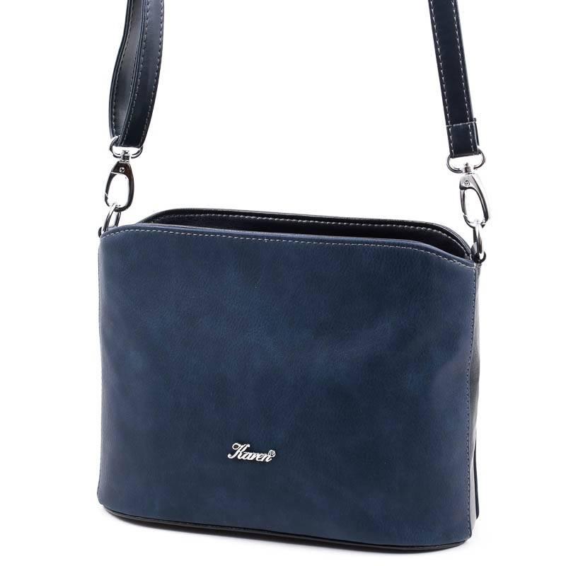 Karen kék női rostbőr táska  5107 bf81a9f615