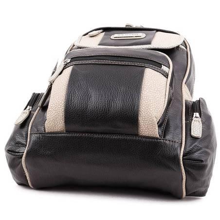 Hernan Bag s Collection fekete-szürke női hátitáska  5188 8932808371