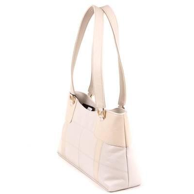 Karen bézs női rostbőr táska