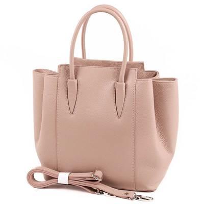 Púder olasz bőr női táska