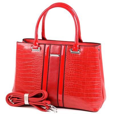 SilviaRosa piros női táska