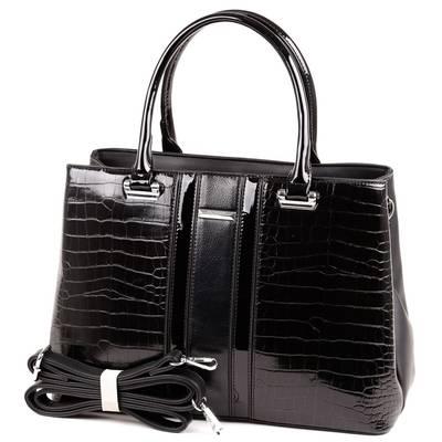 SilviaRosa fekete női táska