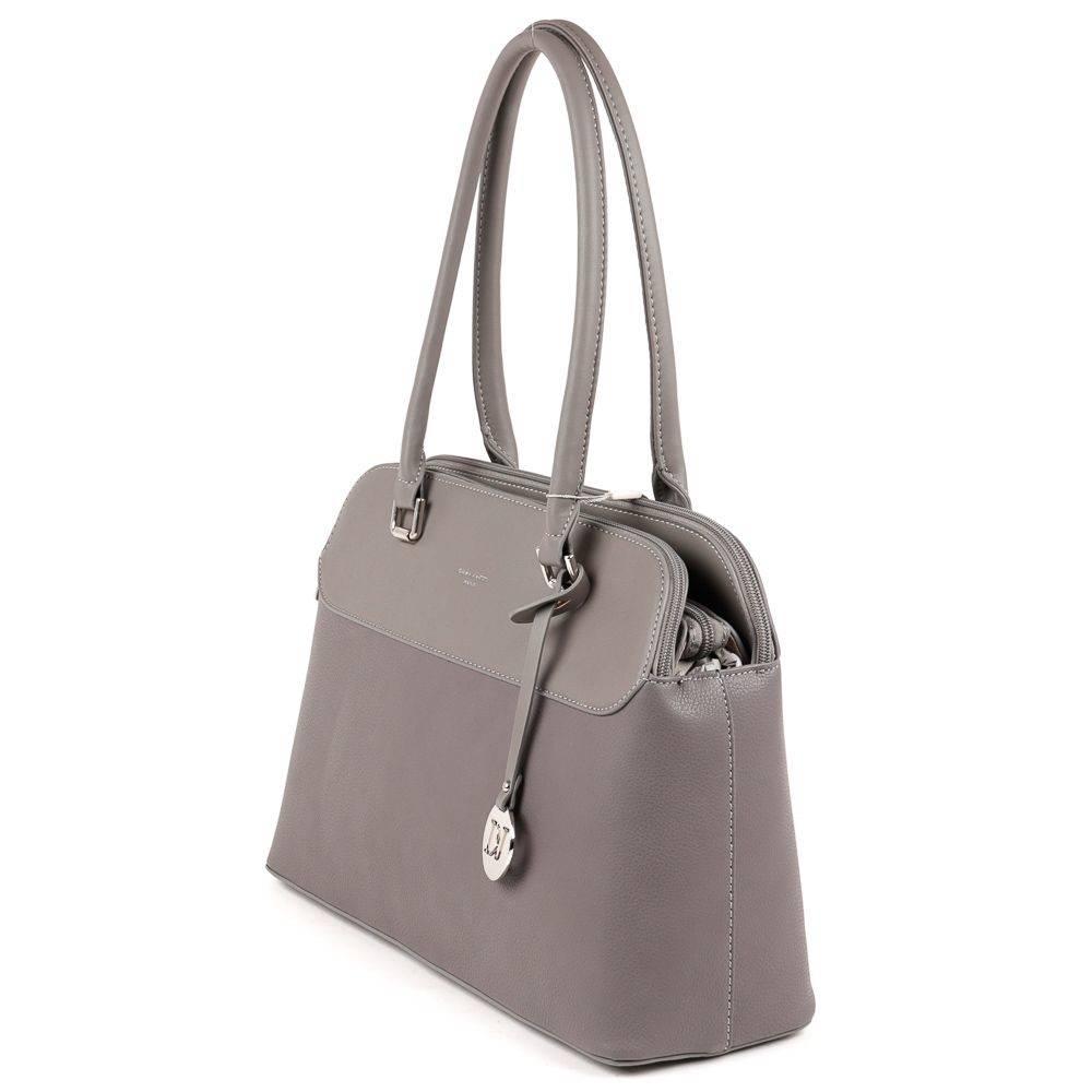 5b1c1dd5ea0b David Jones szürke női táska #5368