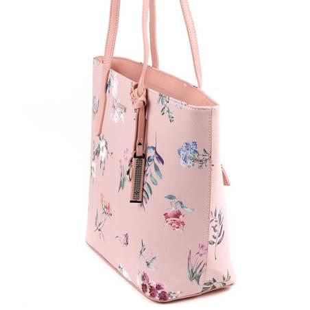 f99c8b6754bc David Jones rózsaszín virágos női táska #5402