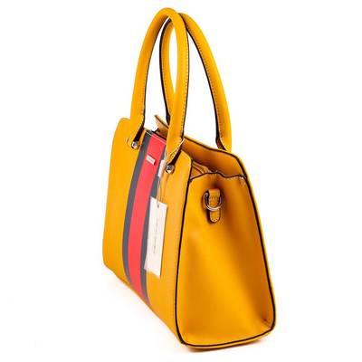 David Jones sárga női táska