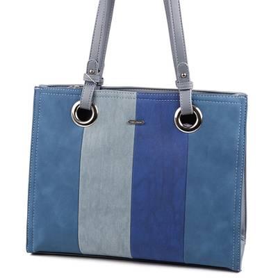ebe458095f9a David Jones kék női táska ...