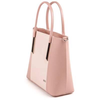 Via55 púder rostbőr női táska