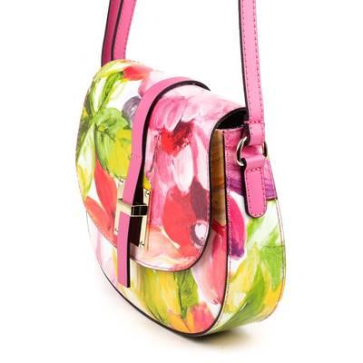 Mintás olasz bőr női táska