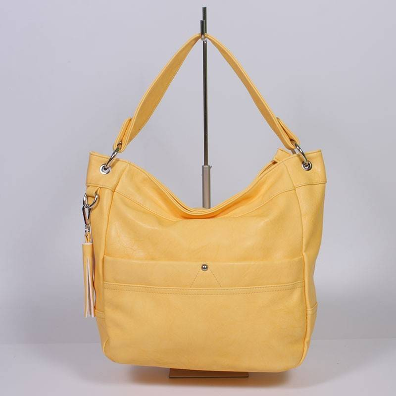 a2aaa5b5df Sárga divatos női táska #560