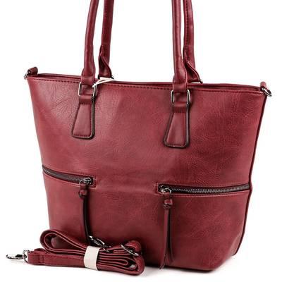 Dudlin bordó női táska