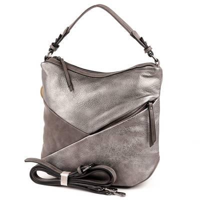 Micussi ezüst színű női táska